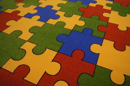 Dywan Do Przedszkola 300x400 Puzzle